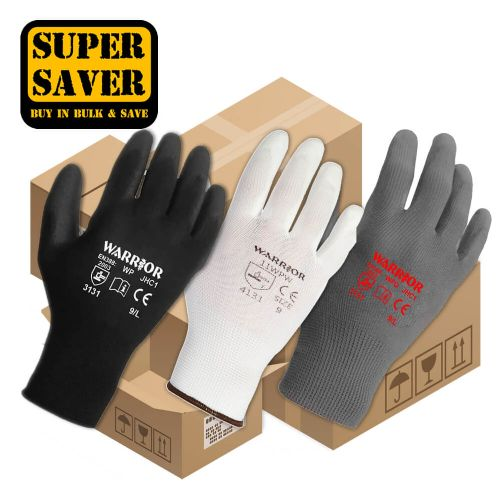 Warrior PU Gloves - 240 Pairs